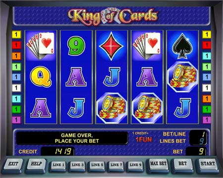 King Of Cards Multi Gaminator