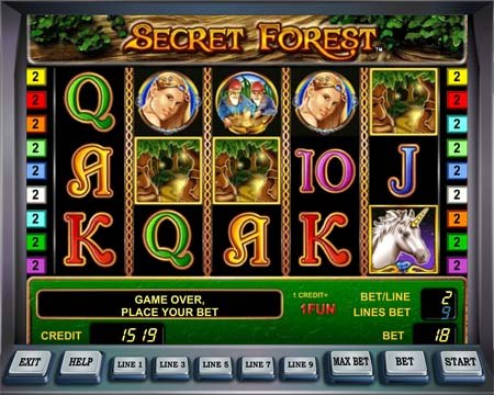 Secret Forest Multi Gaminator