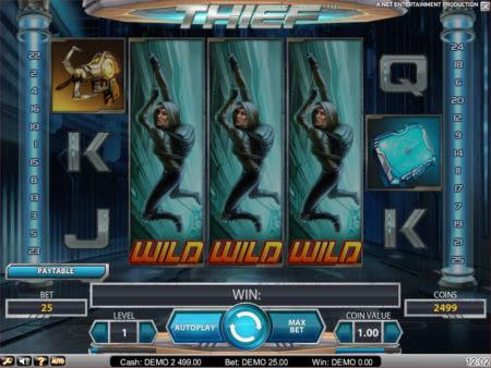 Игровой Автомат Thief Netent